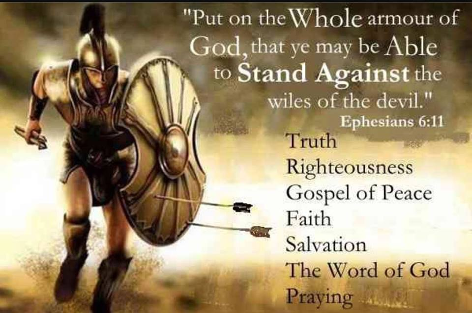 PUT ON THE FULL ARMOR OF GOD – Heavenly Treasures Ministry